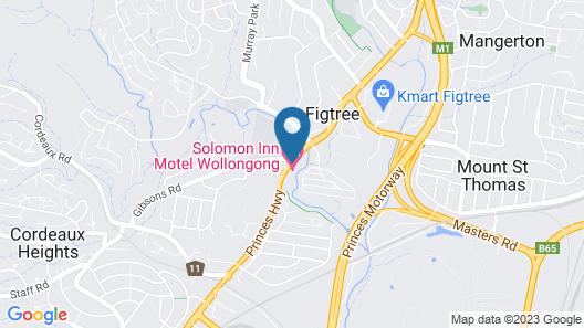 Solomon Inn Wollongong Map