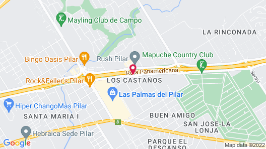 Sheraton Pilar Hotel and Convention Center Map