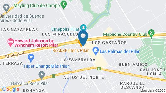 Ibis Pilar Map