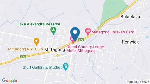 Melrose Motel Map