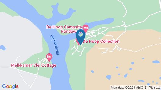 De Hoop Campsite Rondawels Map