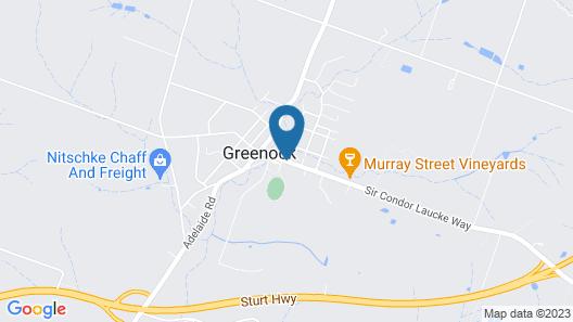 Greenock's Old Telegraph Station Map