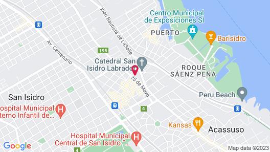 San Isidro Plaza Hotel Map