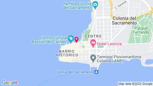 Radisson Hotel Colonia del Sacramento Map