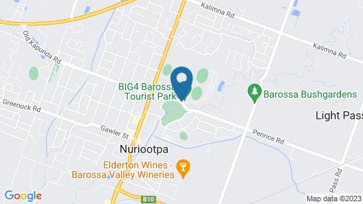 Barossa Tourist Park Map