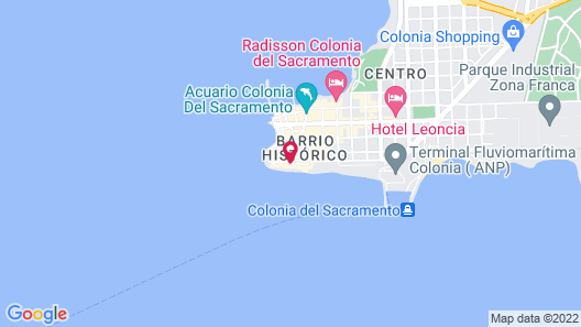 Charco Hotel Map
