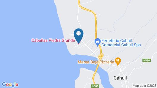 Cabañas Piedra Grande Map