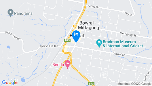 The Bowral Hotel Map