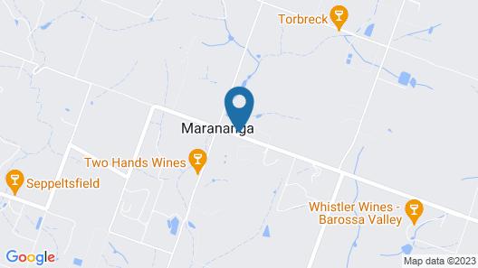 Marananga Cottages Map
