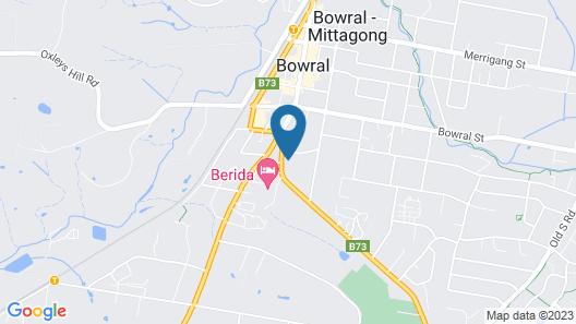 Bowral Boutique Motel Map
