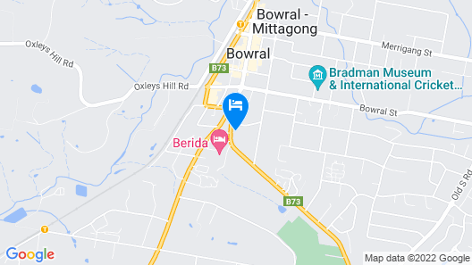 Bowral Boutique Motel Map