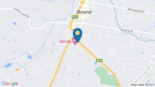 Berida Hotel Map