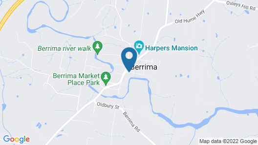 Berrima Bakehouse Motel Map
