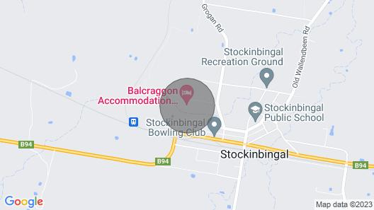 Balcraggon Accommodation Map