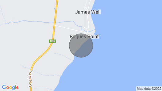 Rogues Weekender - Right on the Beach Map