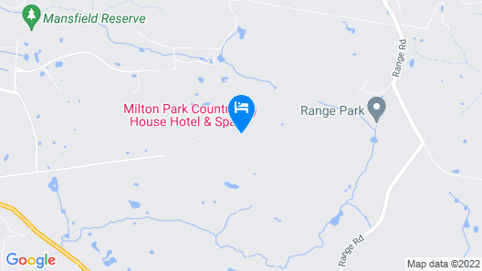 Milton Park Country House Hotel & Spa Map