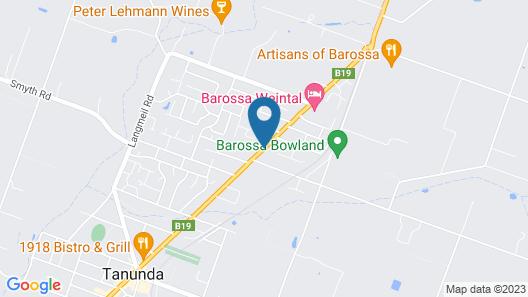 The Barossa Motel Map