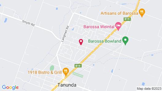 Barossa Studio 57 & Wine Tours Map