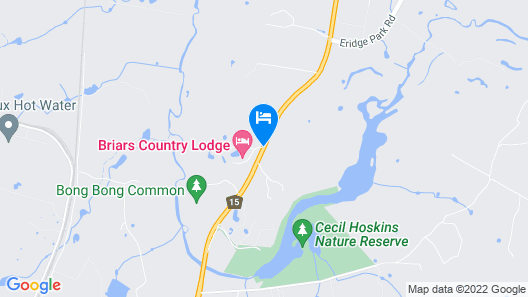 Briars Country Lodge Map