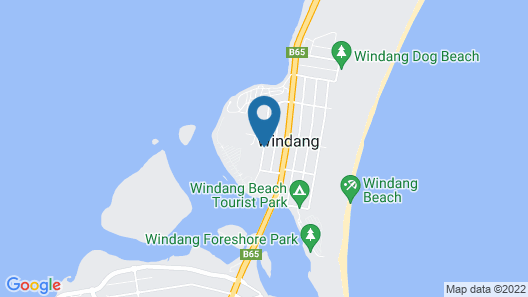Lake Illawarra Bed and Breakfast Map