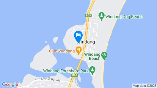 Lake Illawarra Bed and Breakfast Map