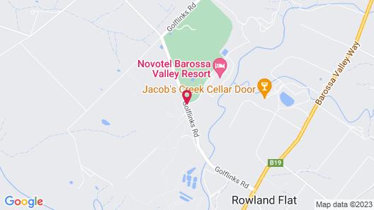 Novotel Barossa Valley Resort Map