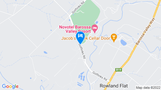 Novotel Barossa Valley Resort Map