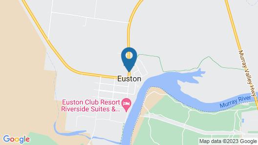 Euston Motel Map