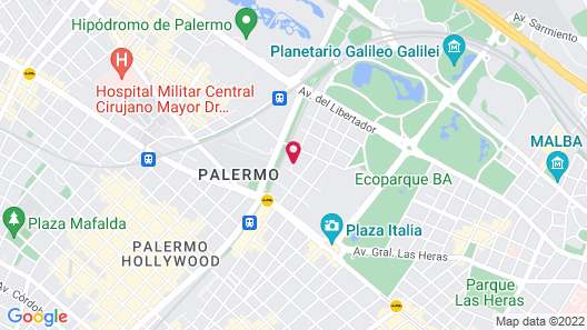 Dazzler by Wyndham Buenos Aires Polo Map