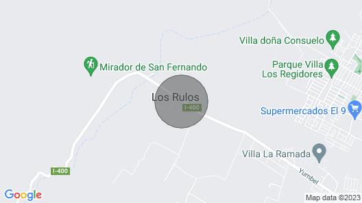 Casa de Campo - Valle de Colchagua, Chile Map