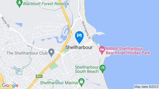 Shellharbour Village Motel Map