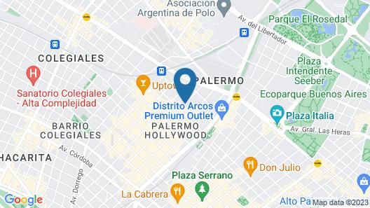 Palo Santo Hotel Map