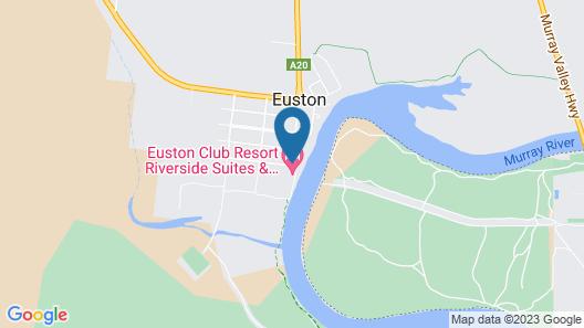 Euston Club Motel Map