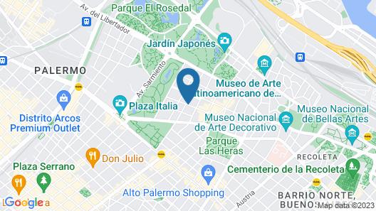 CasaSur Bellini Hotel Map