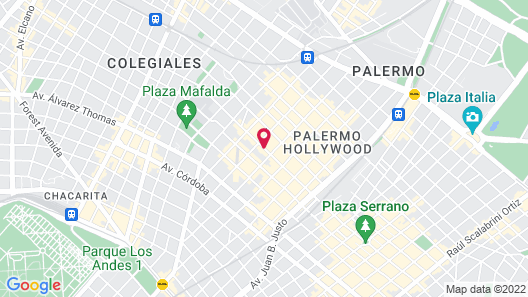 Home Hotel Buenos Aires Map