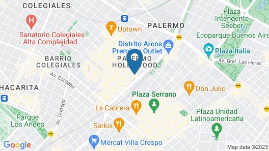 Hotel Clasico Map