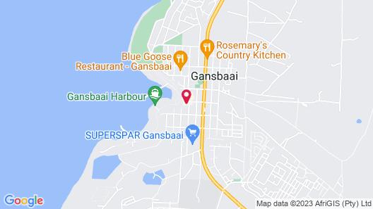 Gansbaai Boarding Lodge Map