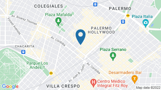 Rendez-Vous Hotel Buenos Aires Map