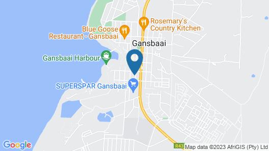 Tourist Lodge Gansbaai Map