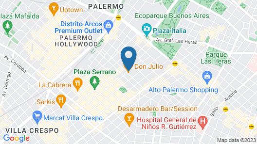 Own Grand Palermo Soho Map