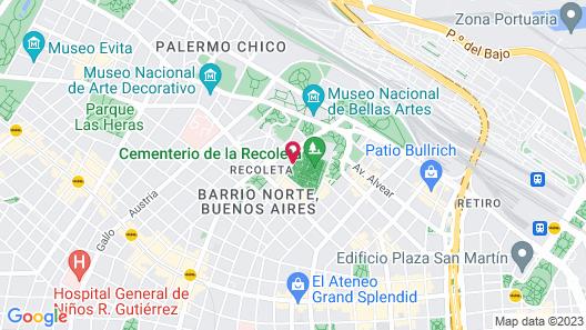 Sileo Hotel Map