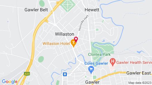 THE Church Guest Home - Gawler/barossa Region Map