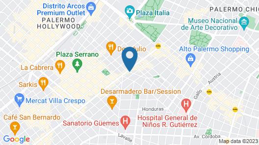 Duque Hotel Boutique & Spa Map