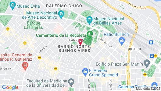 Dazzler by Wyndham Buenos Aires Recoleta Map