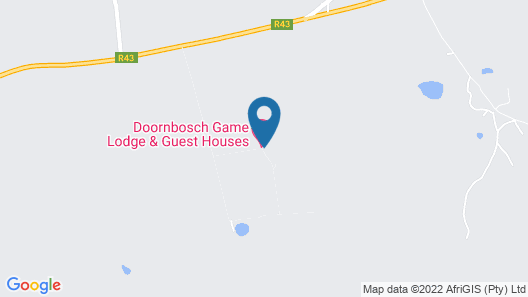 Doornbosch Game Lodge and Guest Houses Map