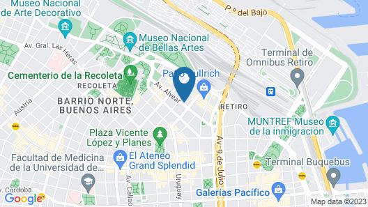 Palacio Duhau - Park Hyatt Buenos Aires Map