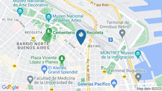 Sofitel Buenos Aires Recoleta Map