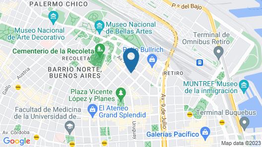 Hotel Club Frances Map