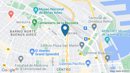 Four Seasons Hotel Buenos Aires Map
