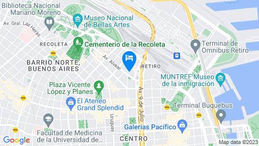 Serena Hotel Buenos Aires Map
